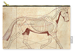 The Horse's Trot Revealed Carry-all Pouch