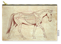 The Horse's Walk Revealed Carry-all Pouch
