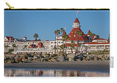 The Hotel Del Coronado Carry-all Pouch