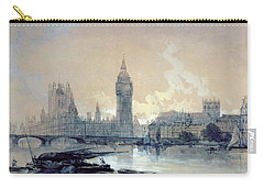 The Houses Of Parliament Carry-all Pouch by David Roberts