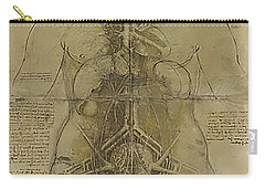 The Human Organ System Carry-all Pouch by James Christopher Hill