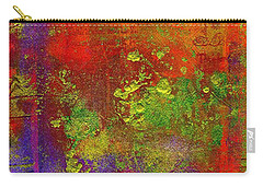 Carry-all Pouch featuring the painting The Human Spirit by Angela L Walker