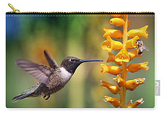 The Hummingbird And The Bee Carry-all Pouch