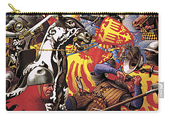 The Hundred Years War  The Struggle For A Crown Carry-all Pouch