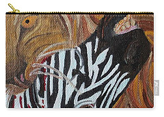 Carry-all Pouch featuring the painting The Hunter by Amy Gallagher