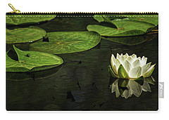 The Illuminated Lotus Carry-all Pouch
