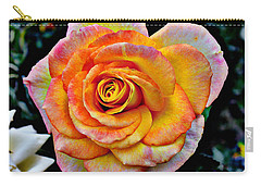 The Imperfect Rose Carry-all Pouch by Glenn McCarthy