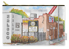 The Improv Comedy Store In Melrose Blvd., West Hollywood, California Carry-all Pouch