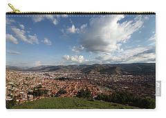 The Inca Capital Of Cusco Carry-all Pouch by Aidan Moran