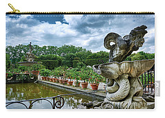 Inside The Boboli Gardens Of Firenze Carry-all Pouch