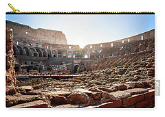 The Interior Of The Roman Coliseum Carry-all Pouch