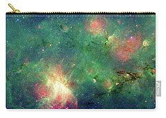 Carry-all Pouch featuring the photograph The Invisible Dragon by NASA JPL-Caltech