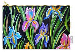 The Irises Carry-all Pouch