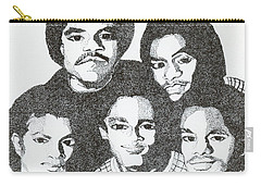 The Jacksons Tribute Carry-all Pouch