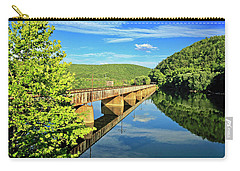The James River Trestle Bridge, Va Carry-all Pouch