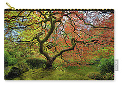 The Japanese Maple Tree In Spring Carry-all Pouch