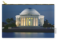Jefferson Memorial Carry-All Pouches
