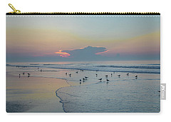 Carry-all Pouch featuring the photograph The Jersey Shore - Wildwood by Bill Cannon