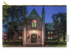 Carry-all Pouch featuring the photograph The Jingle Bells Church by Rob Sellers