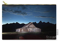 The John Moulton Barn On Mormon Row At The Base Of The Grand Tetons Wyoming Carry-all Pouch