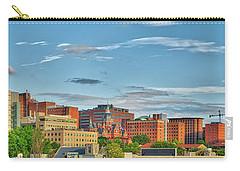 Carry-all Pouch featuring the photograph The Johns Hopkins Hospital Complex by Mark Dodd