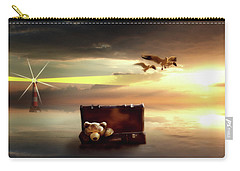 Carry-all Pouch featuring the digital art The Journey Begins  by Nathan Wright