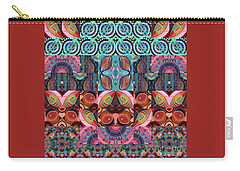 The Joy Of Design Mandala Series Puzzle 7 Arrangement 3 Carry-all Pouch