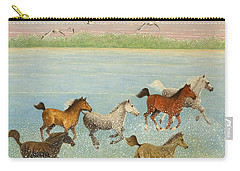 The Joy Of Freedom Carry-all Pouch by Pat Scott