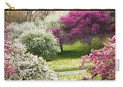 Carry-all Pouch featuring the photograph The Joy Of Spring by Jessica Jenney