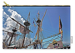 Carry-all Pouch featuring the photograph The Kalmar Nyckel - Delaware by Brendan Reals