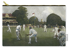 The Kent Eleven Champions, 1906 Carry-all Pouch by Albert Chevallier Tayler