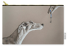 The Key Of Sincerity Carry-all Pouch by Elena Kolotusha