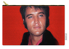 The King Rocks On L Carry-all Pouch