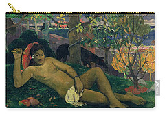 The Kings Wife Carry-all Pouch by Paul Gauguin