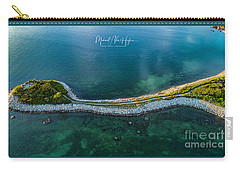Carry-all Pouch featuring the photograph The Knob by Michael Hughes