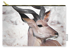 The Kudu Portrait Carry-all Pouch