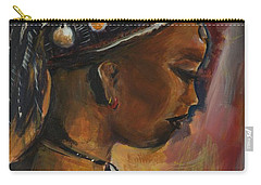 The Lady Carry-all Pouch by Bernadette Krupa