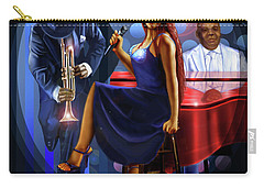 The Lady Jazz Singer Carry-all Pouch