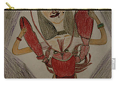 The Lady Carry-all Pouch by Lorna Maza