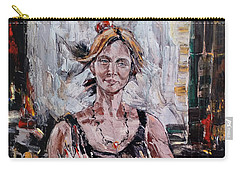 The Lady With The Fan Carry-all Pouch