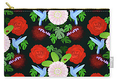 The Ladybird And The Hummingbird Carry-all Pouch