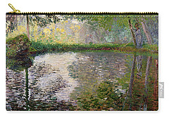 The Lake At Montgeron Carry-all Pouch
