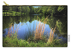 The Lake At Musgrove Mill Carry-all Pouch