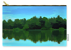 The Lake - Impressionism Carry-all Pouch