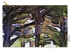 The Landscape With The Leaning Trees Carry-all Pouch