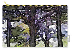 The Landscape With The Trees In A Row Carry-all Pouch