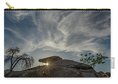 Carry-all Pouch featuring the photograph The Last Blast by Gaelyn Olmsted