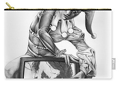 The Last Laugh Carry-all Pouch by Pete Tapang