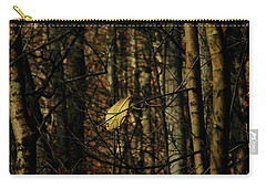 The Last Leaf Carry-all Pouch by Bruce Patrick Smith