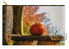 The Last Pumpkin Carry-all Pouch by Lois Bryan